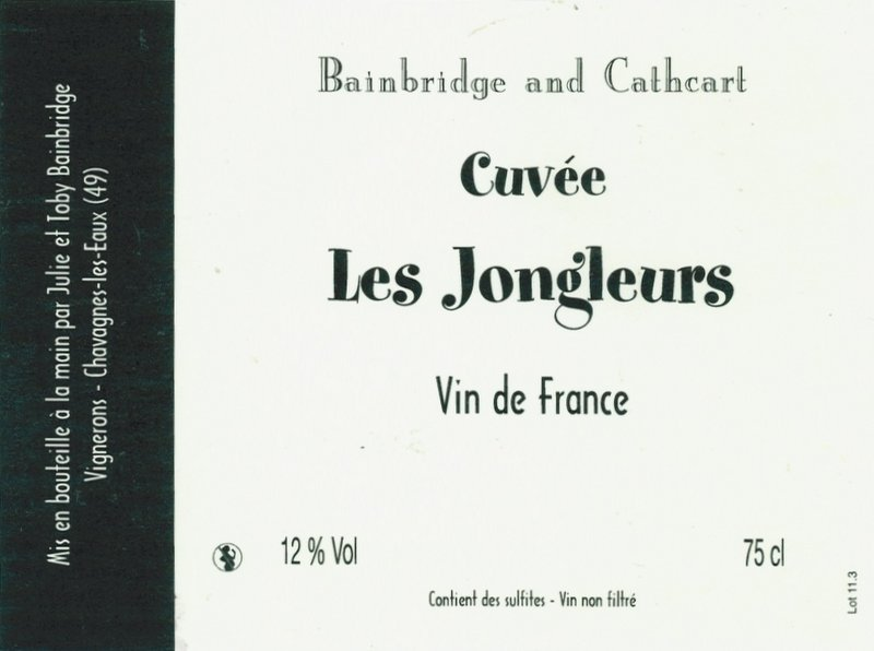 Bainbridge and Cathcart Les Jongleurs