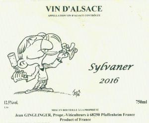 Ginglinger Sylvaner 2016
