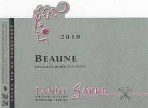 Fanny Sabre Beaune_2010