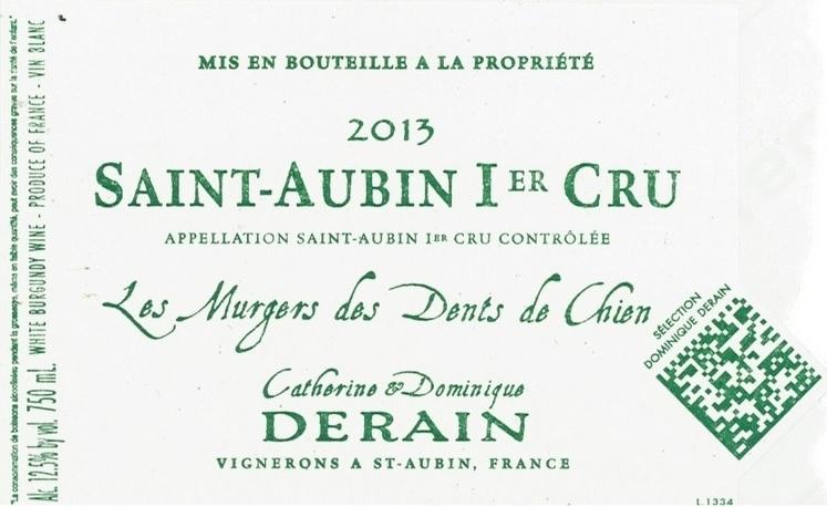 Derain-Saint-Aubin-1er-Cru-Dents-des-Chien-2013