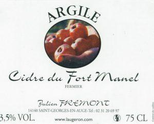 Fremont-cider-Argile