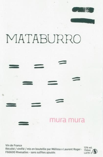 Mataburro-Laurent-Roger-Mura-Mura-2019