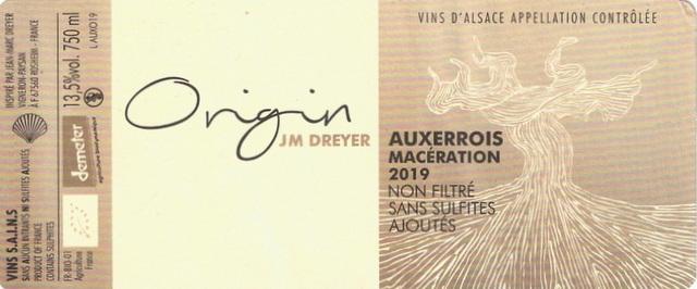 Dreyer Origin Auxerrois