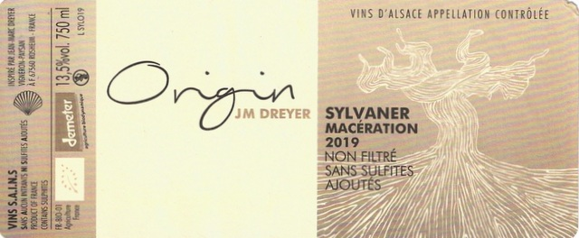 Dreyer Sylvaner Origin