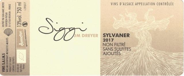 Dreyer Siggi Sylvaner 2017
