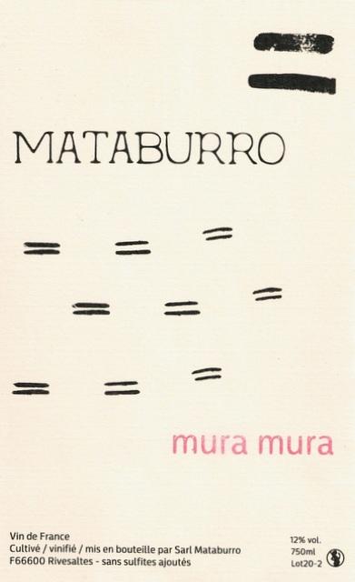 Mataburro Laurent Roger Mura Mura 2020